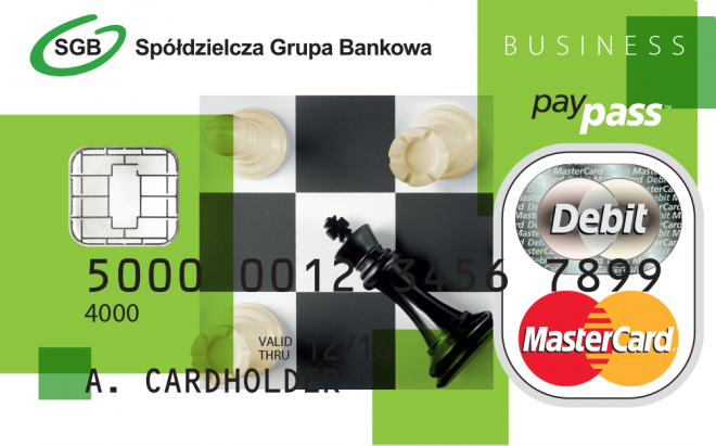 MasterCard Business - karta charge