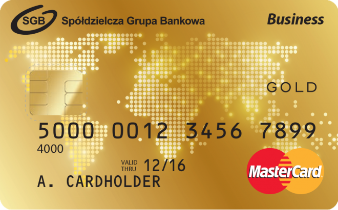 Mastercard Business Gold Prestizowa Karta Charge Express Bank